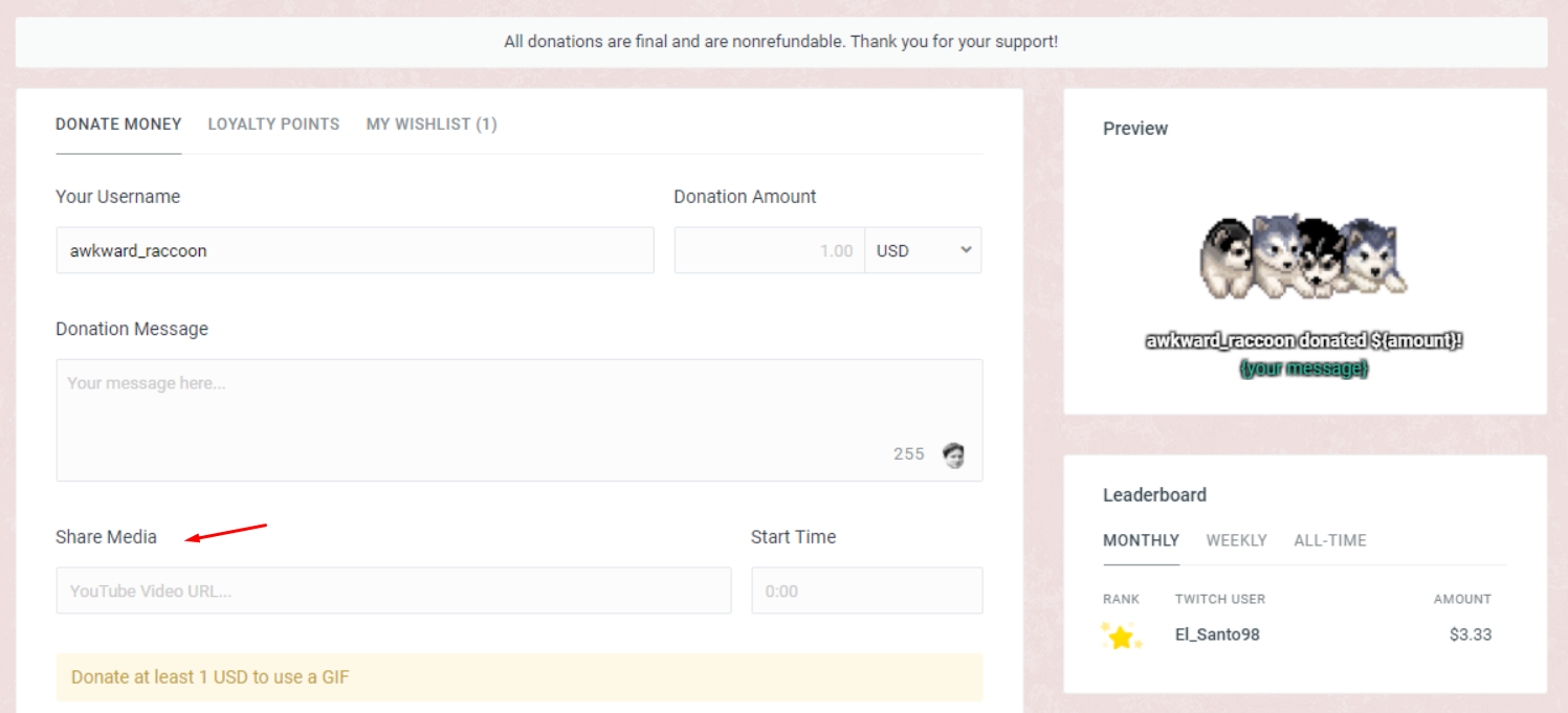 How to Set Up Streamlabs Mediasharing for Donations – Streamlabs