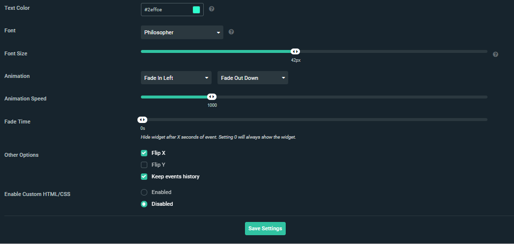 Setting up your Streamlabs widgets – Streamlabs